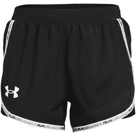 Under Armour Fly By 2.0 Brand Shorts Damer, sort